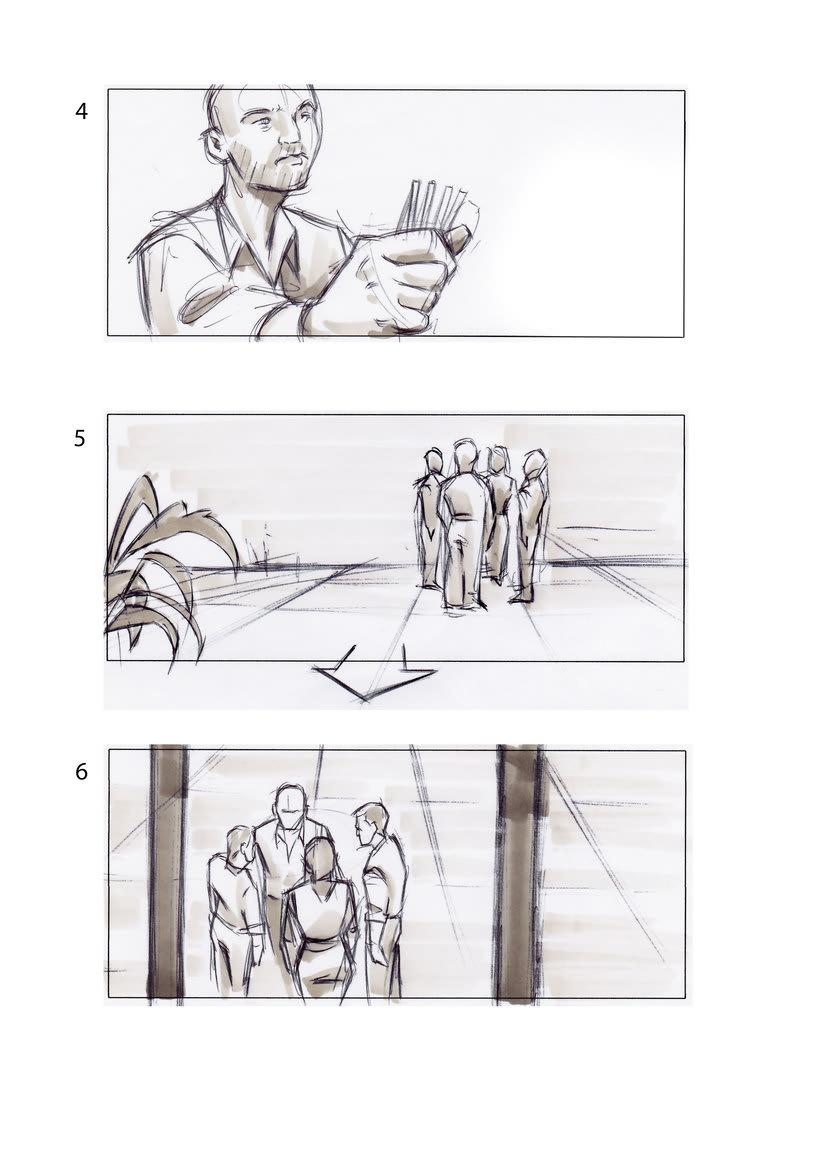 storyboard de Los Últimos Días 0