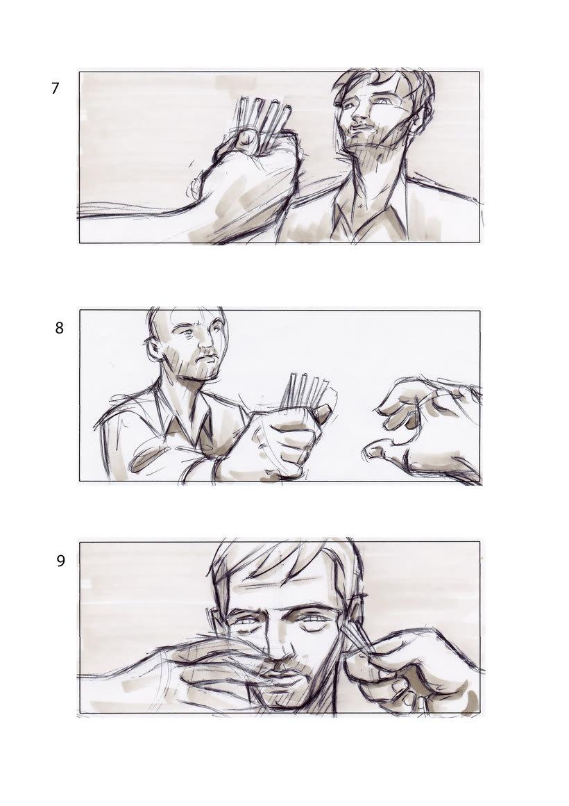 storyboard de Los Últimos Días 1
