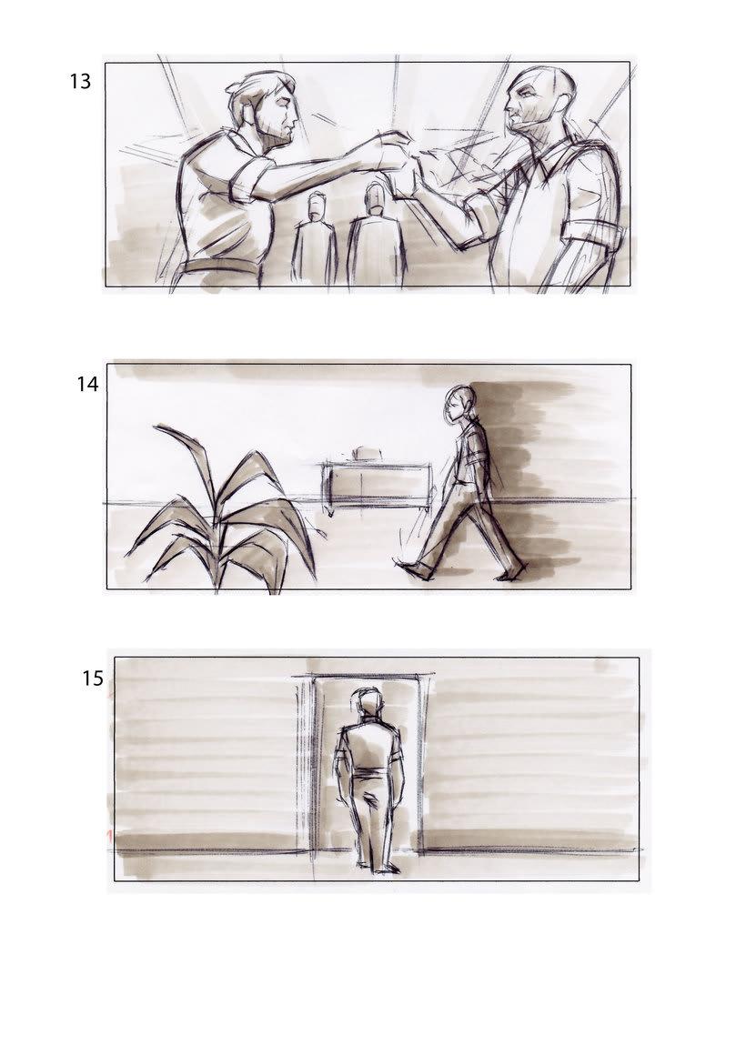 storyboard de Los Últimos Días 3