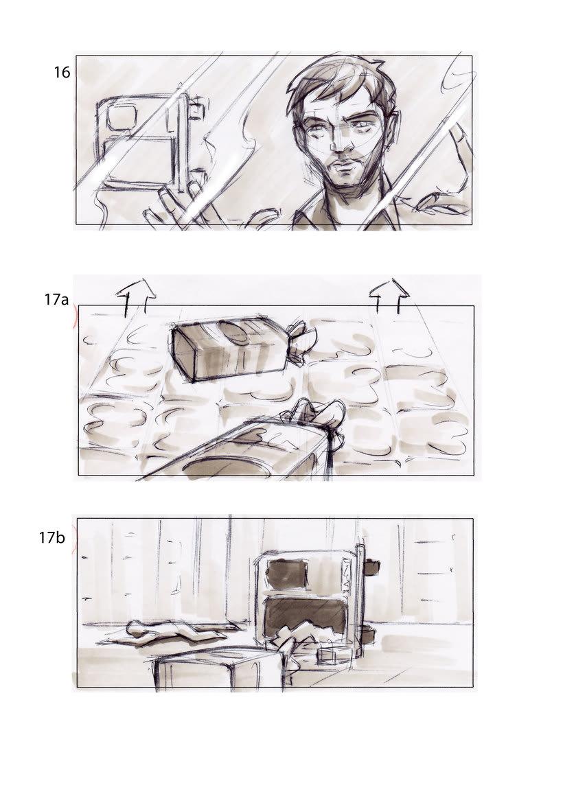 storyboard de Los Últimos Días 4