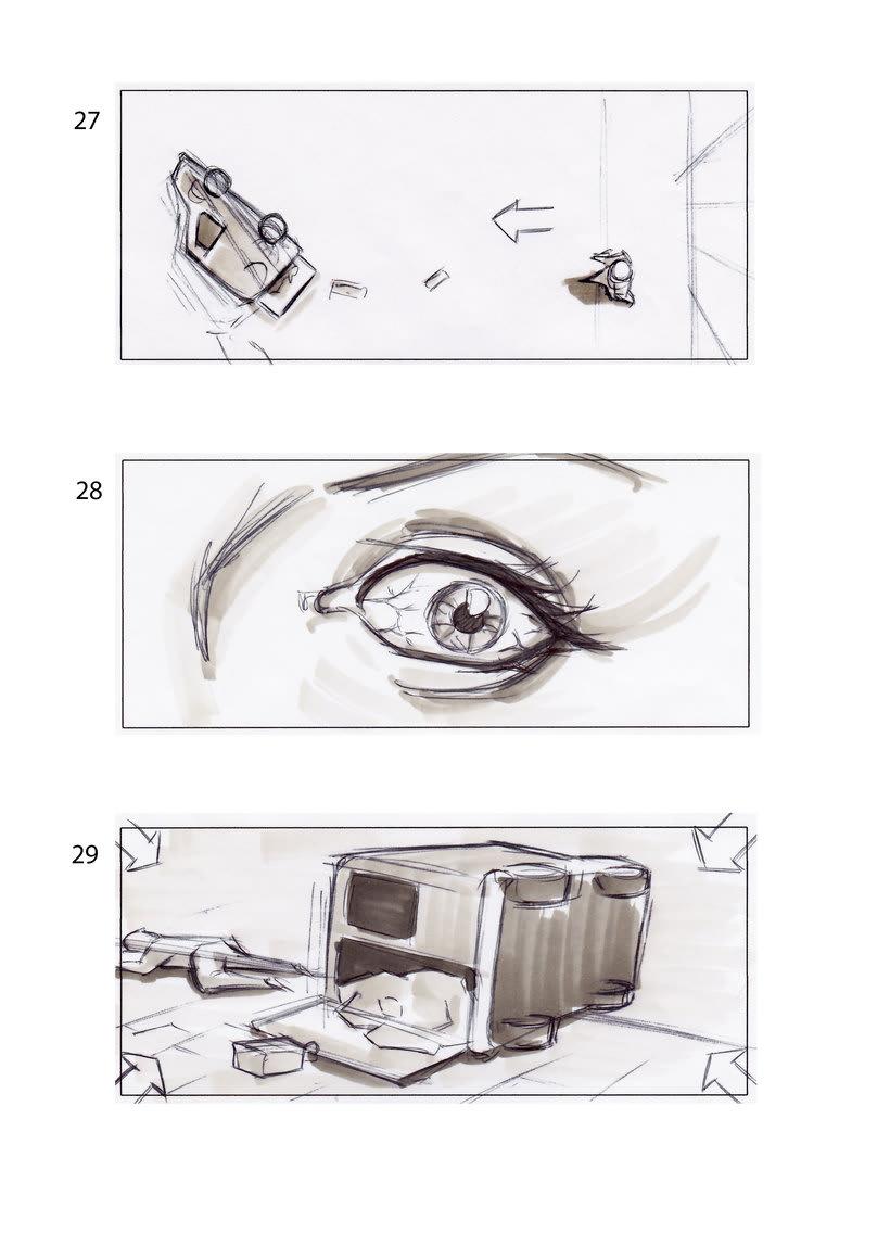 storyboard de Los Últimos Días 5