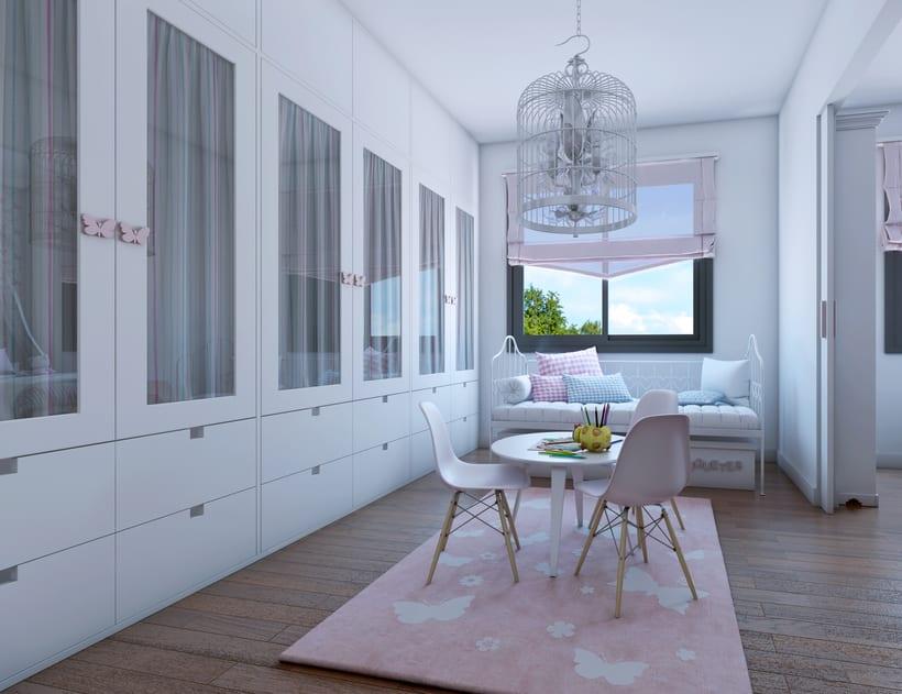 Interiores 3D de Casa Particular en Ciudad Real 7