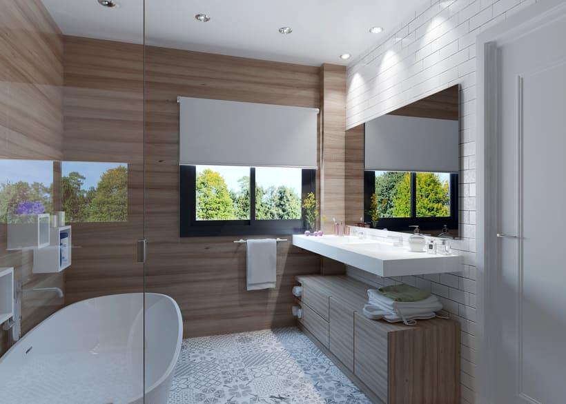 Interiores 3D de Casa Particular en Ciudad Real 5