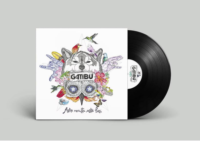 Desarrollo artístico nuevo disco de Gatibu  -1