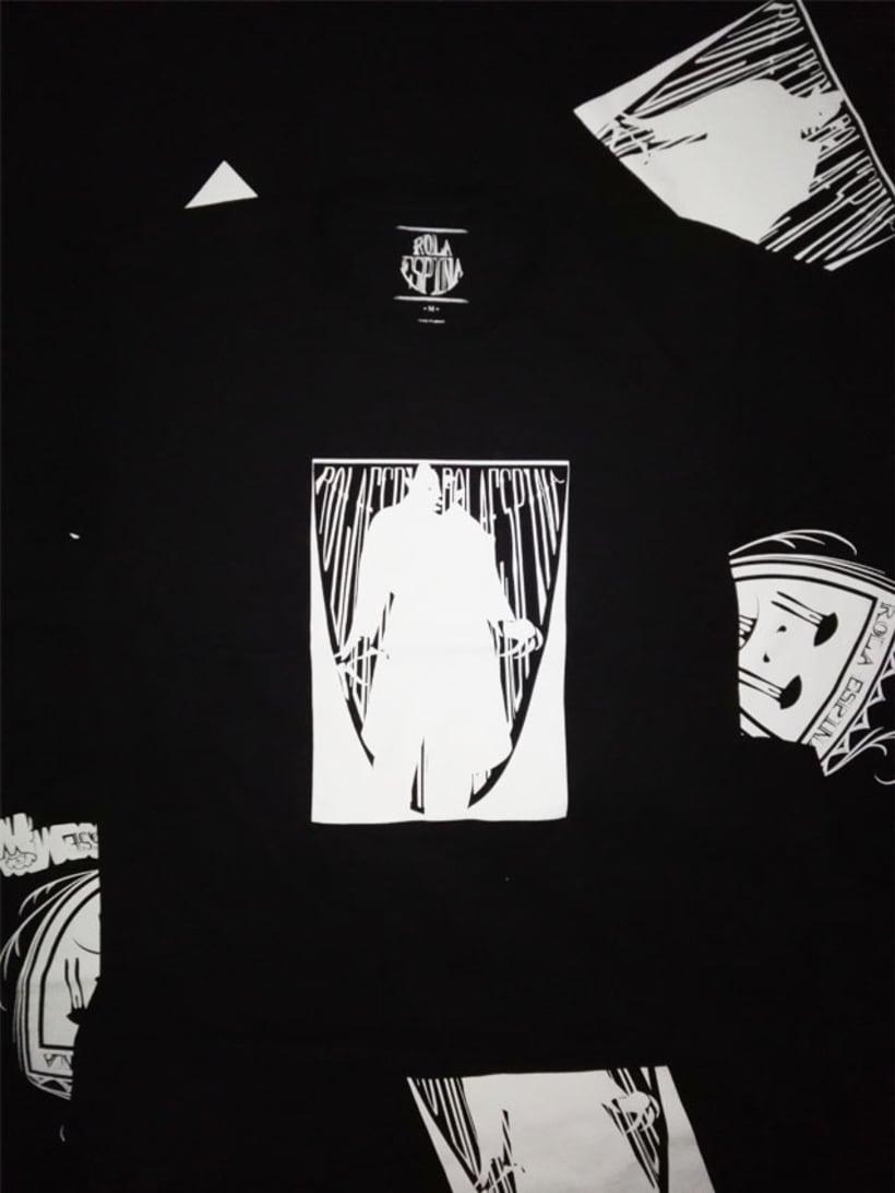 Rola Espina Camisetas -1