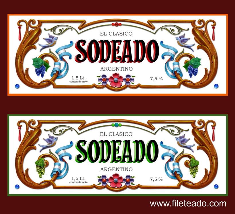 Etiqueta Sodeado 5