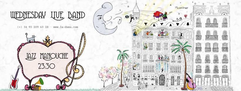 Ilustración Live Band 0