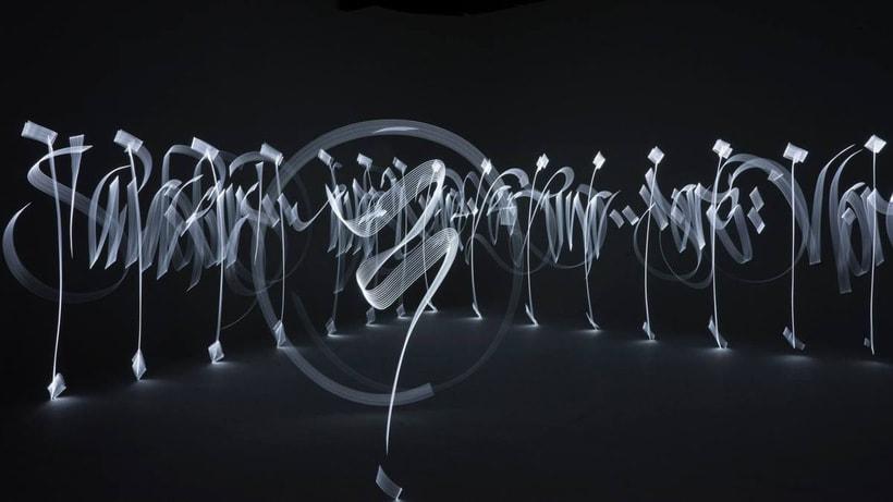 Said Dokins: la caligrafía más allá del papel 13