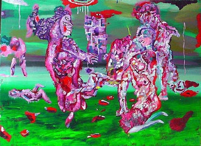 Raza de Cain. Exposición de pintura. Proyecto Dmarcaciones. 1
