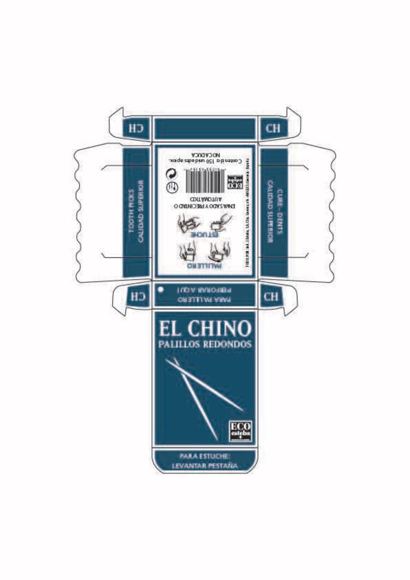 Packaging Palillos EL CHINO -1