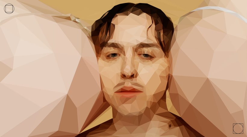 "Tommy Cash - Low Poly Illustration from ""Winnaloto"" 0"