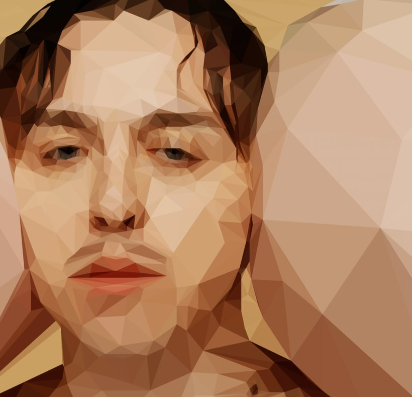 "Tommy Cash - Low Poly Illustration from ""Winnaloto"" 1"