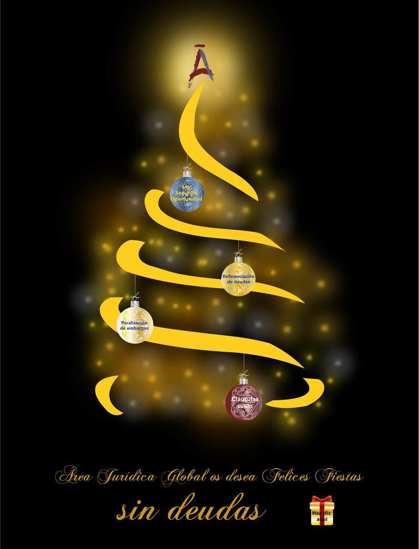 Felicitación de Navidad. Newsletter. -1