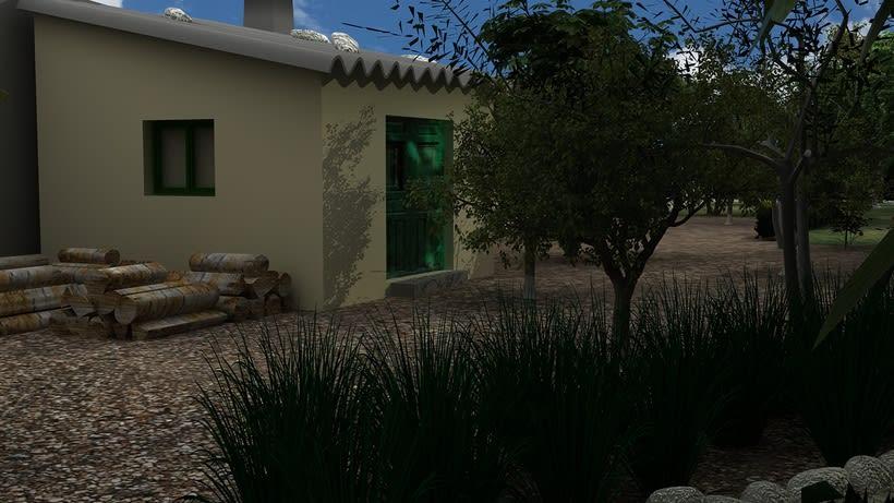 Casa unifamiliar 3D  6
