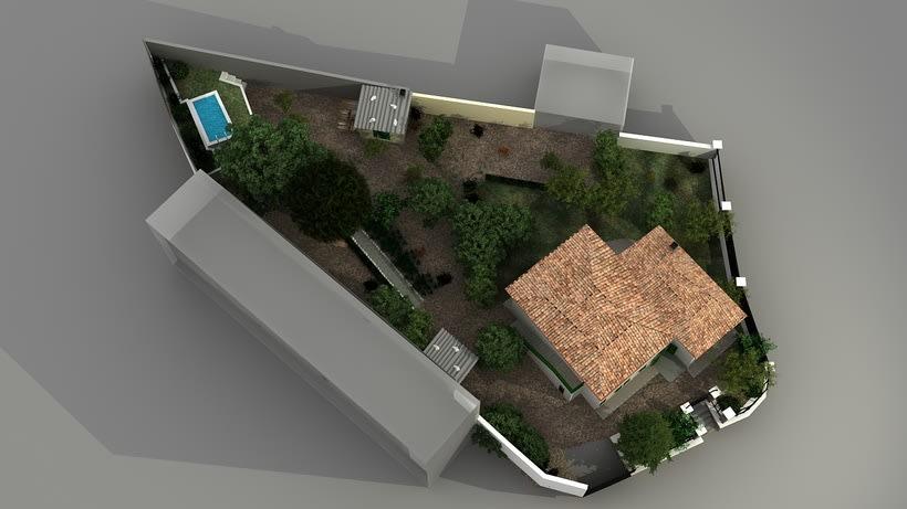 Casa unifamiliar 3D  8