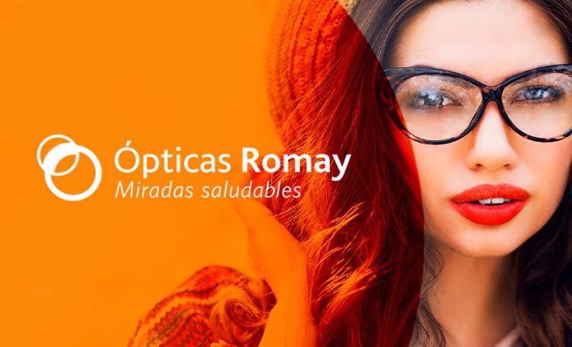 Rediseño Ópticas Romay 3