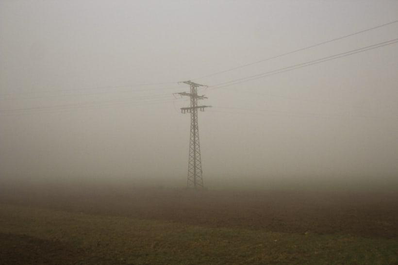 """""""El perro en la niebla"""" 1"""