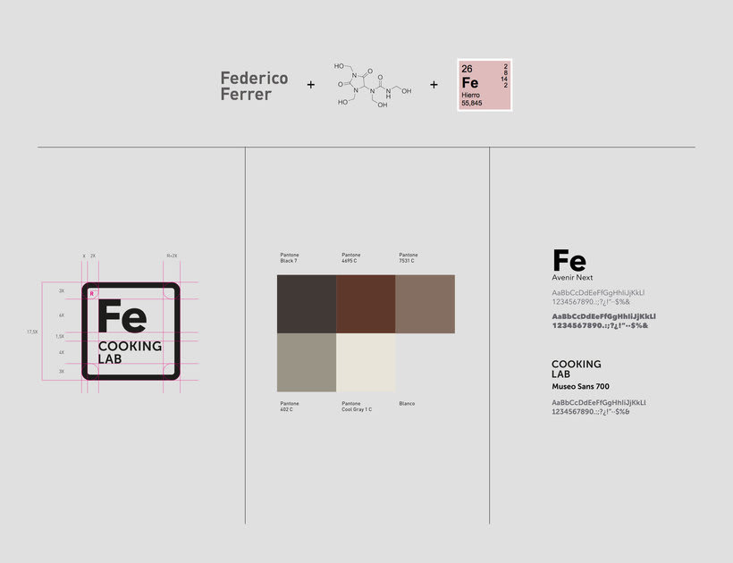 Fe / COOKING LAB / Branding 1