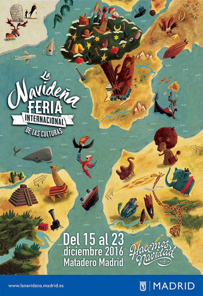 La Navideña Feria Internacional de las Culturas de Madrid, 2016. -1