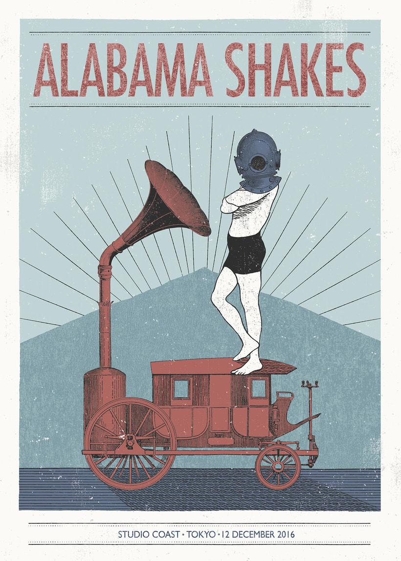 Póster Alabama Shakes -1
