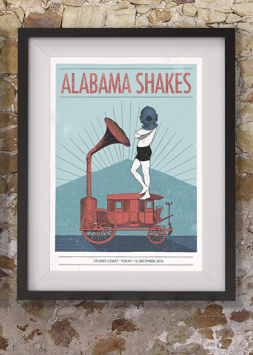 Póster Alabama Shakes 0