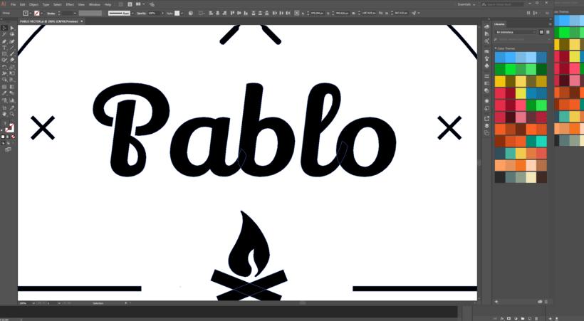 PABLO EN LLAMAS 0