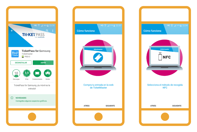 TicketPass for Samsung | NFC App 1