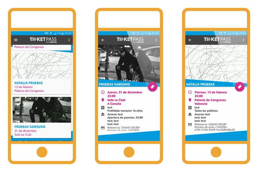 TicketPass for Samsung | NFC App 3