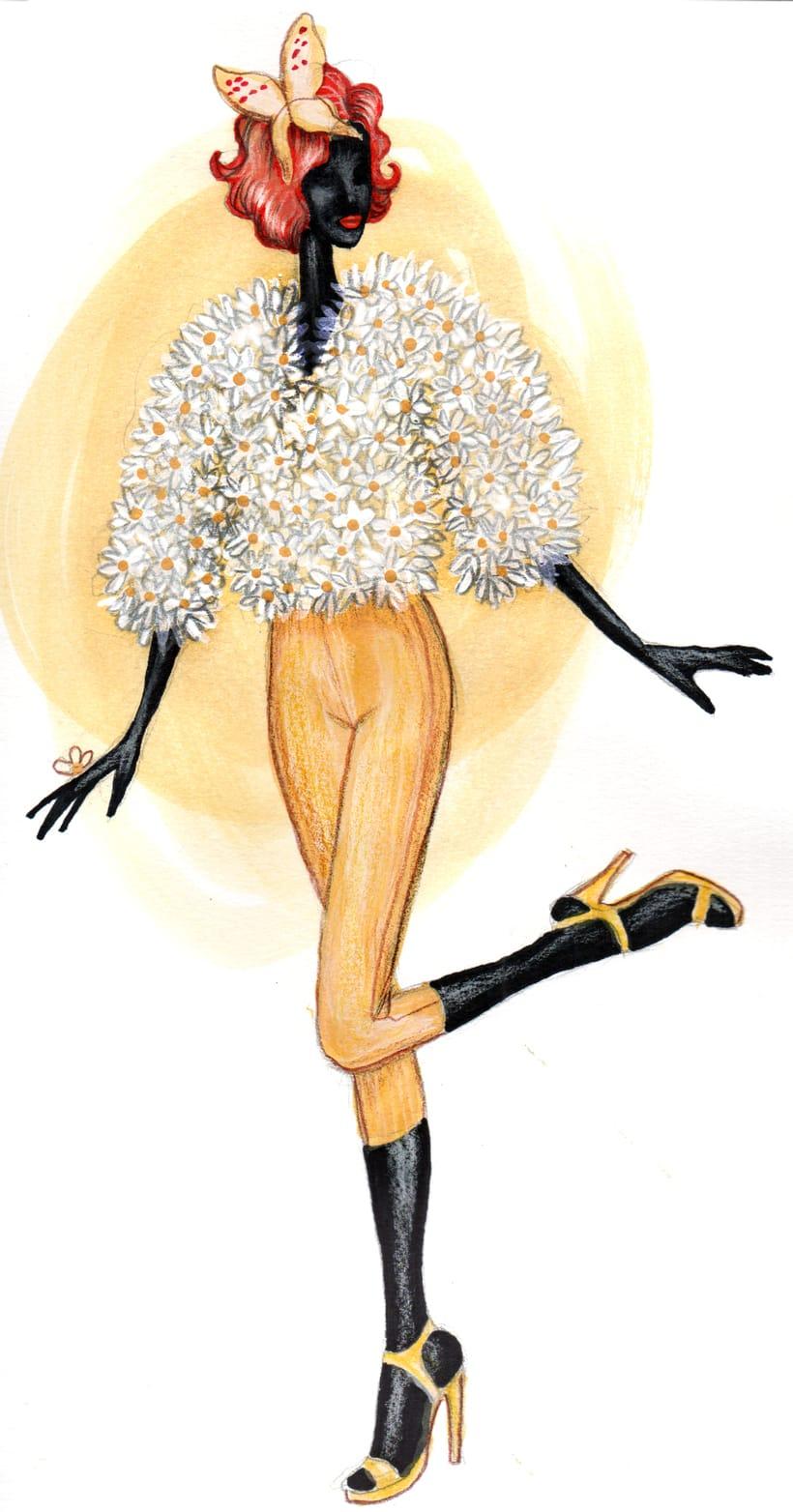 Ilustración de moda -1