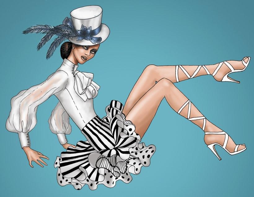 Ilustración de moda 1