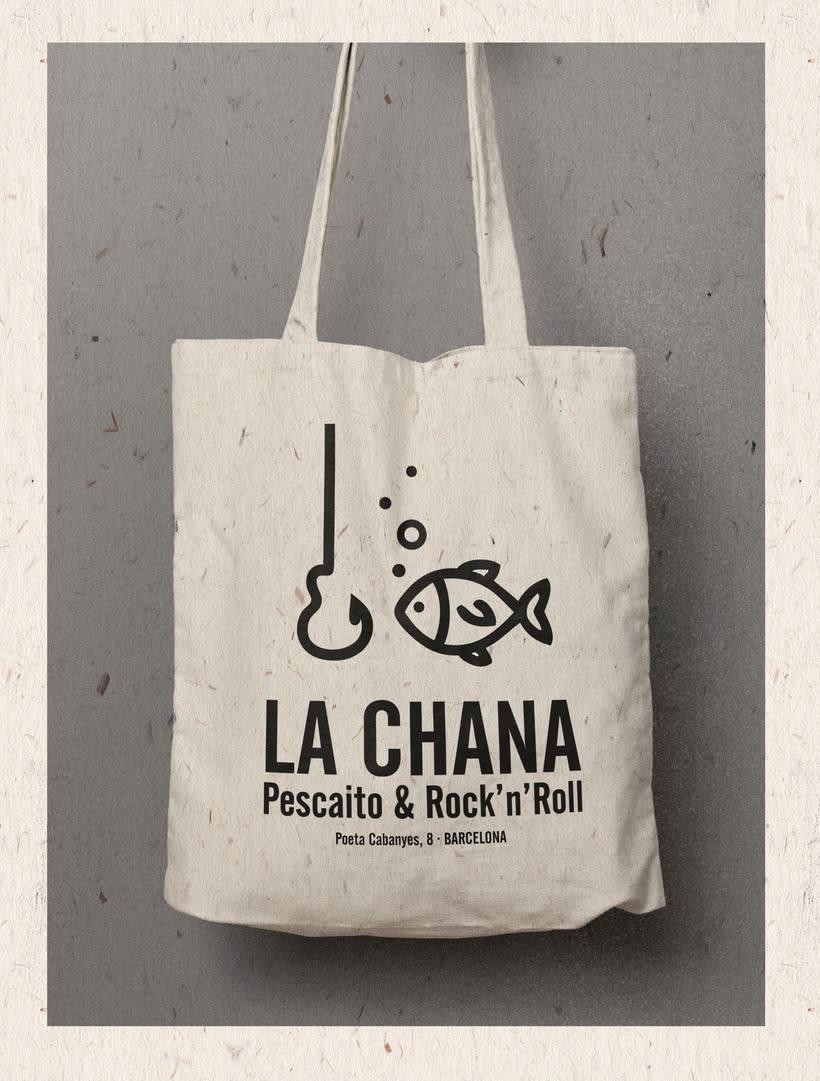 Logotipo LA CHANA (Poeta Cabanyes, 8 - Barcelona) 0
