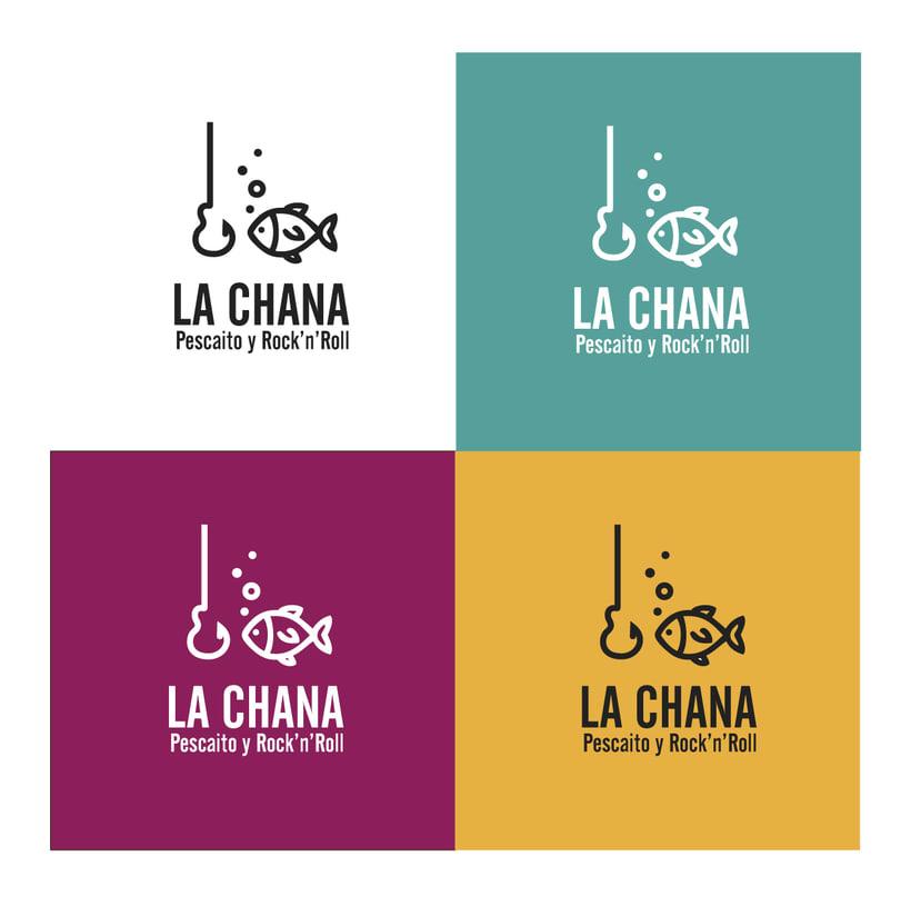 Logotipo LA CHANA (Poeta Cabanyes, 8 - Barcelona) 3