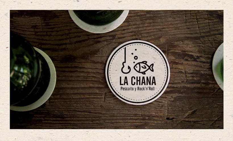 Logotipo LA CHANA (Poeta Cabanyes, 8 - Barcelona) 5