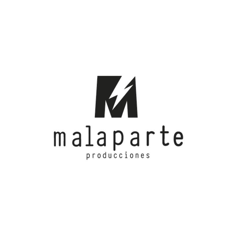Logotipo MALAPARTE producciones 0