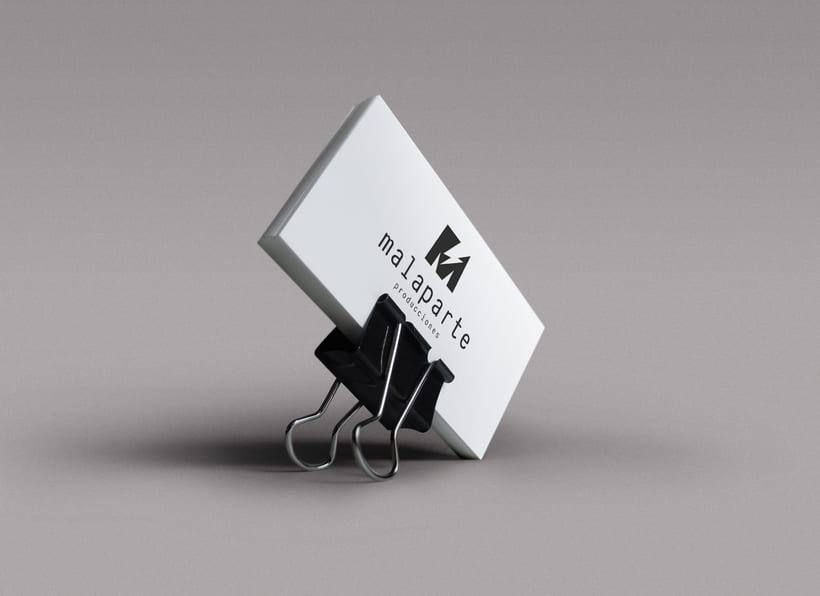 Logotipo MALAPARTE producciones 1