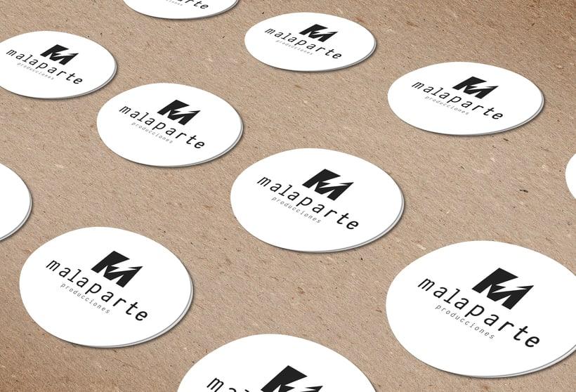 Logotipo MALAPARTE producciones 3