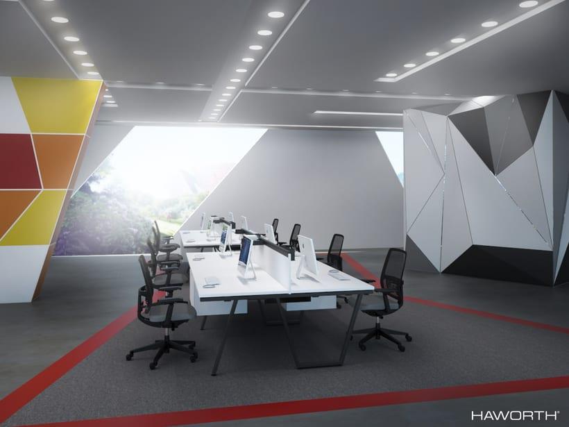 Oficinas para HAWORTH 1