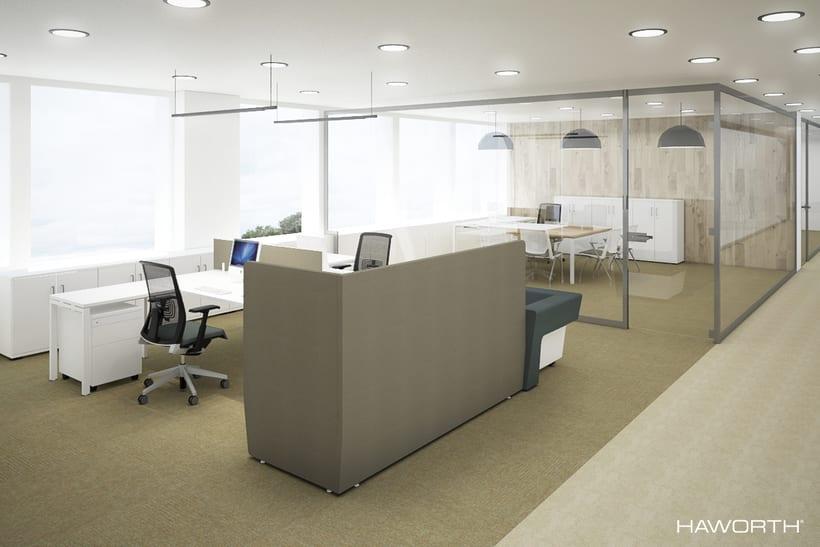 Oficinas para HAWORTH 3
