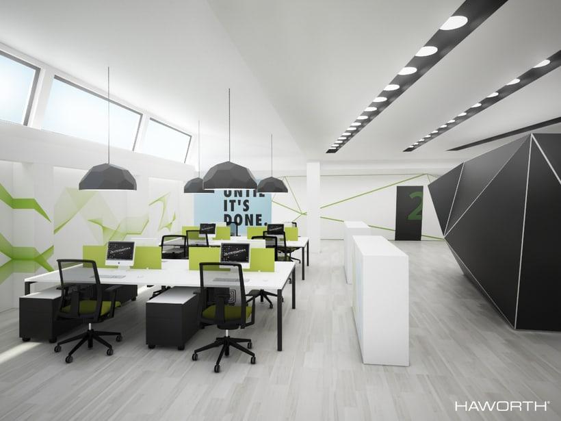 Oficinas para HAWORTH 4
