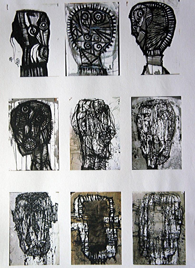 BlackBlood. Exposicion de pintura. Galeria Arte&Diseño. 1