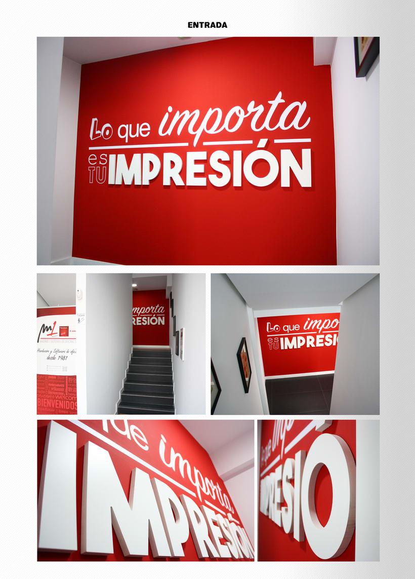 Decoración Oficinas - 3D, fotomontajes y artesfinales (vinilos ...
