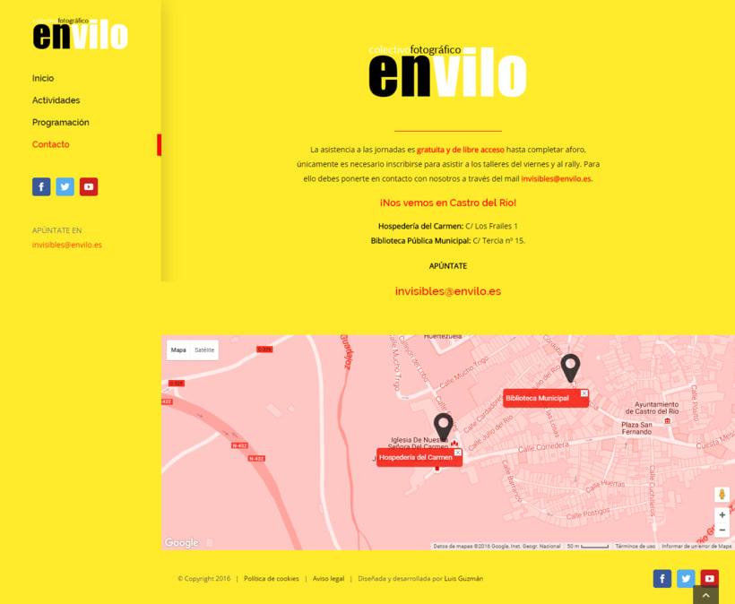 Web Jornadas Fotografía Creativa [IN]VISIBLES 3