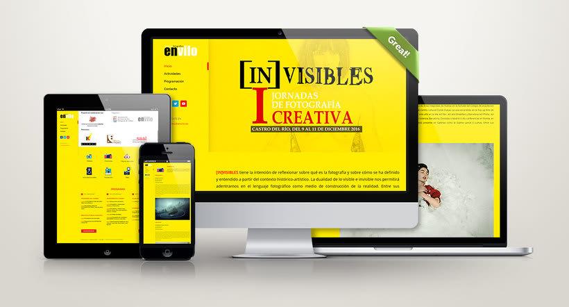 Web Jornadas Fotografía Creativa [IN]VISIBLES 0