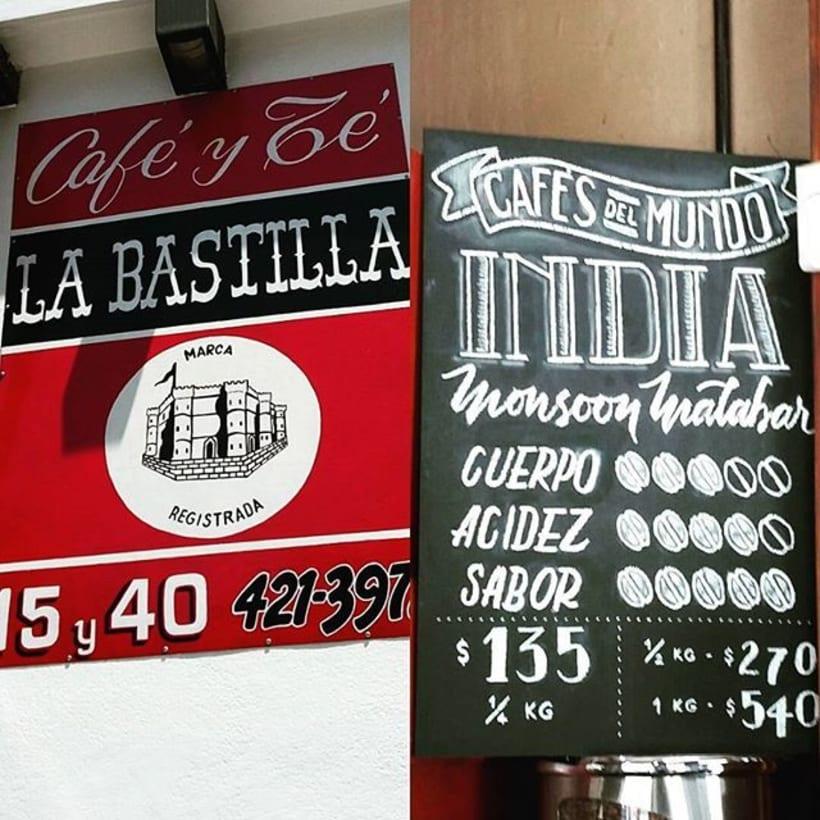 La Bastilla - Café y Té 1
