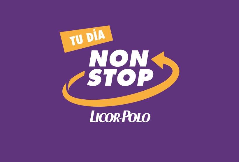 NON STOP. Licor del polo. 0