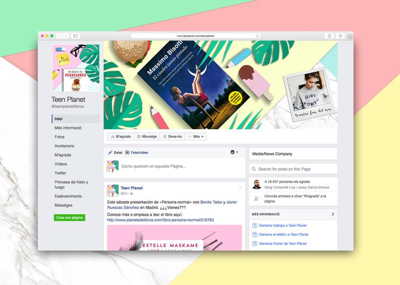 Teen Planet. Social Media. 2