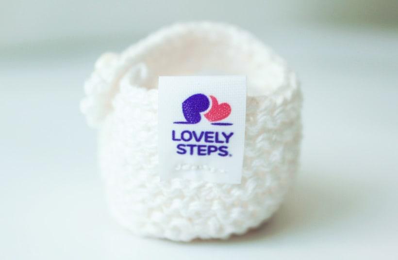 Diseño de Marca de zapatitos bordados para bebé 8