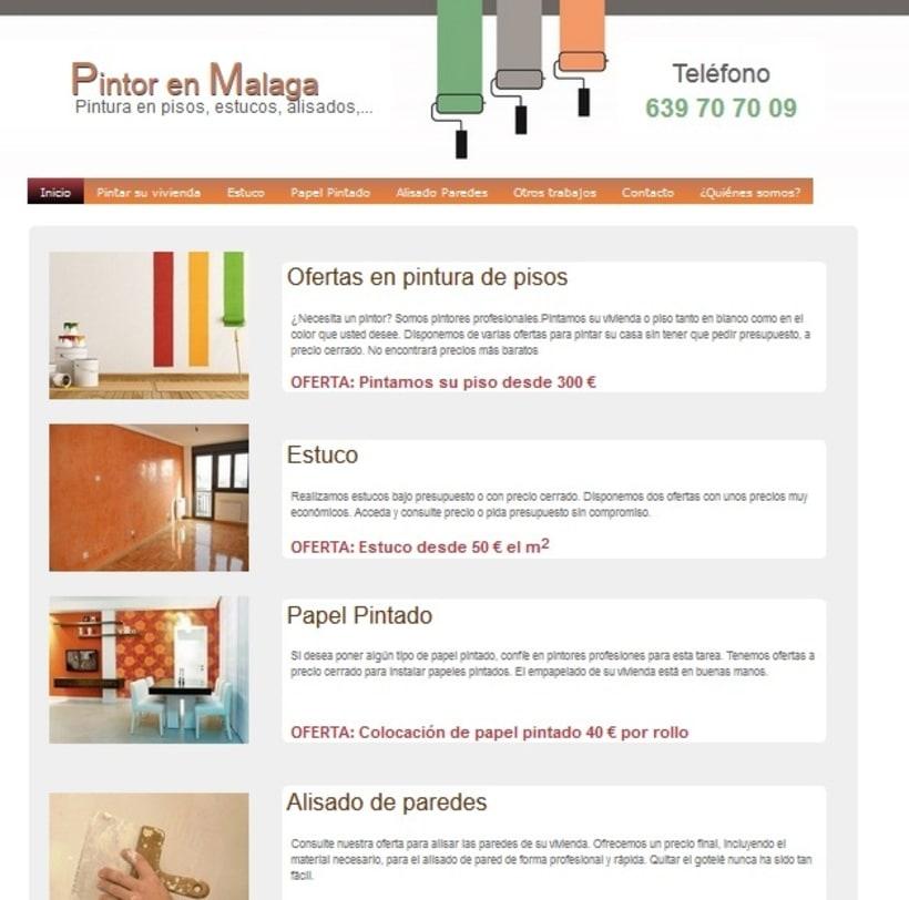 Pintor en Málaga -1