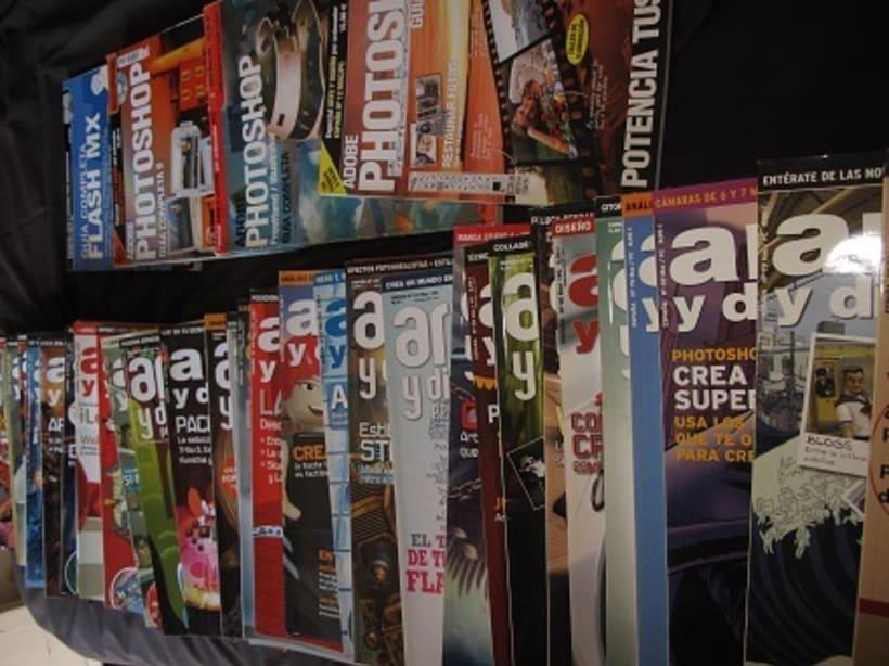 Vendo colección de revistas Arte y Diseño por ordenador 1