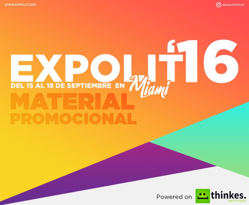 Expolit 2016 - Material Promocional 0